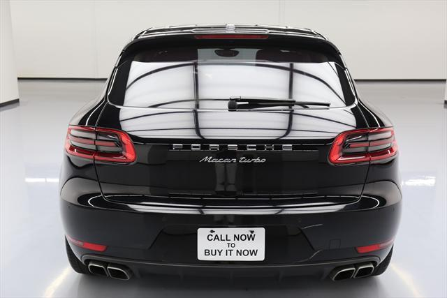 2015 Porsche Macan (Black/Tan)