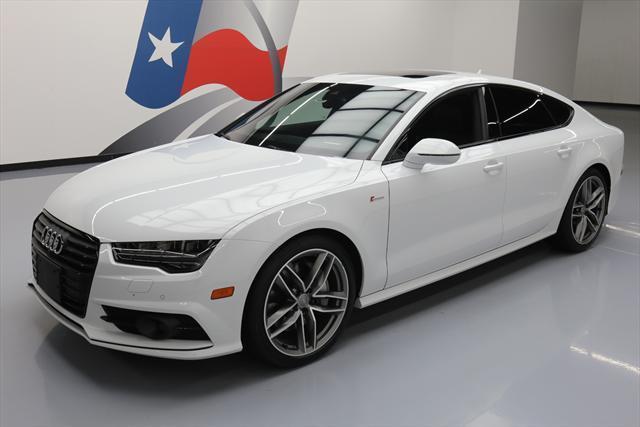 2016 Audi A7 White Black