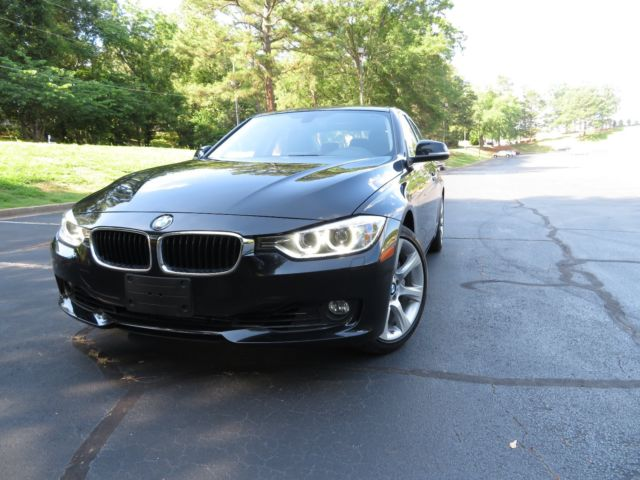 2014 BMW 3-Series (Black/Black)