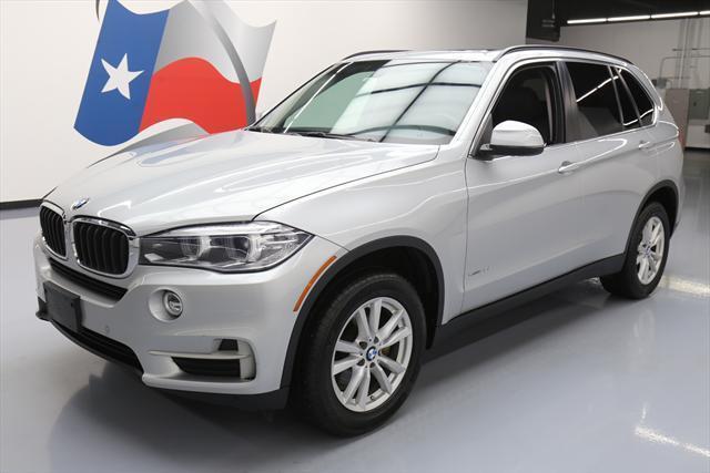 2015 BMW X5 Silver Black