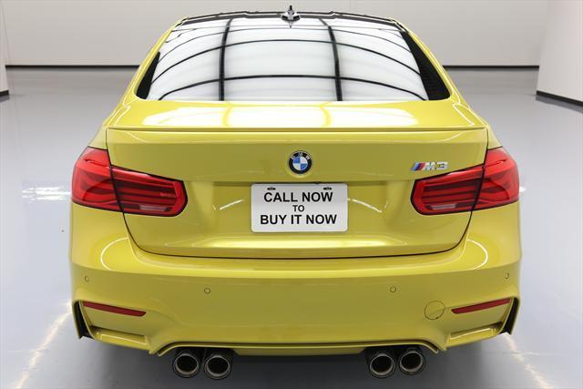2016 BMW M3 (Yellow/Red)