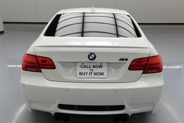 2011 BMW M3 (White/Black)