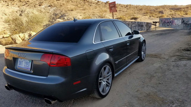 2008 Audi RS4 (Gray/Black)