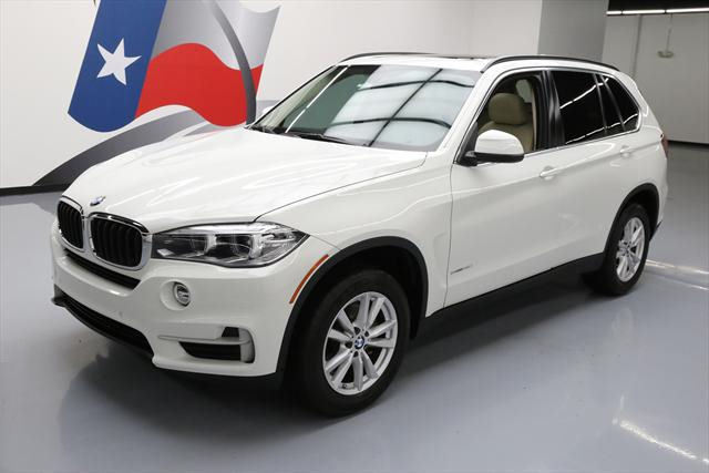 2014 BMW X5 (White/Tan)