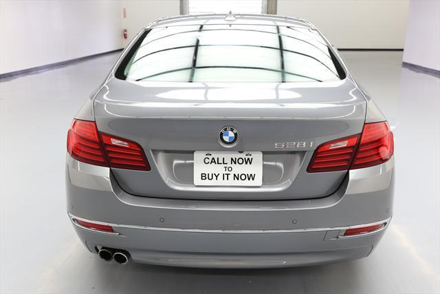 2014 BMW 5-Series (Gray/Black)