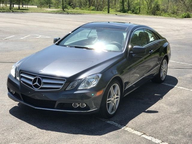 2010 Mercedes-Benz E-Class (Steel Grey/Ash Grey Laether)