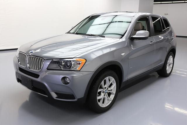 2014 BMW X3 (Gray/Tan)