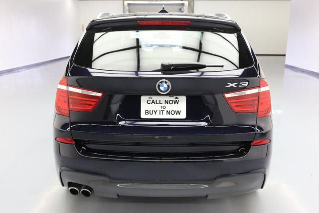 2016 BMW X3 (Blue/Brown)