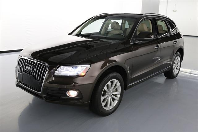 2015 Audi Q5 (Brown/Tan)