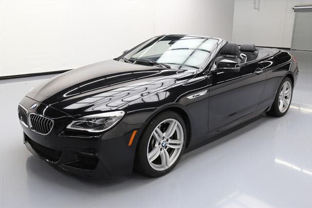 2016 BMW 6-Series (Black/Black)