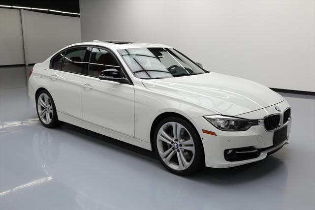 2013 BMW 3-Series (White/Red)