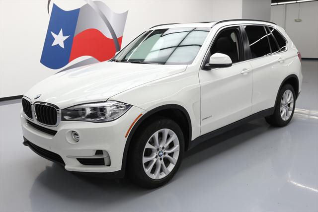 2016 BMW X5 (White/Black)