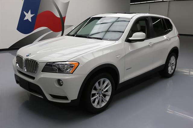 2014 BMW X3 (White/Tan)