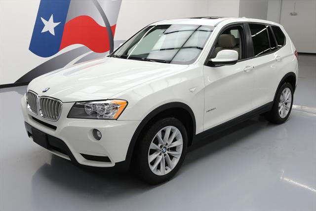 2014 BMW X3 (White/Gray)