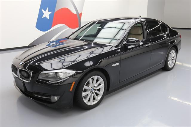2012 BMW 5-Series (Black/Tan)