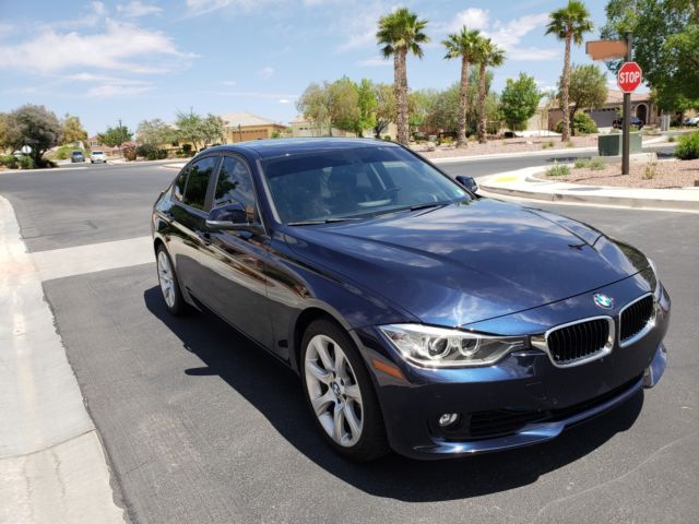 2014 BMW 3-Series (Imperial Blue/Black)