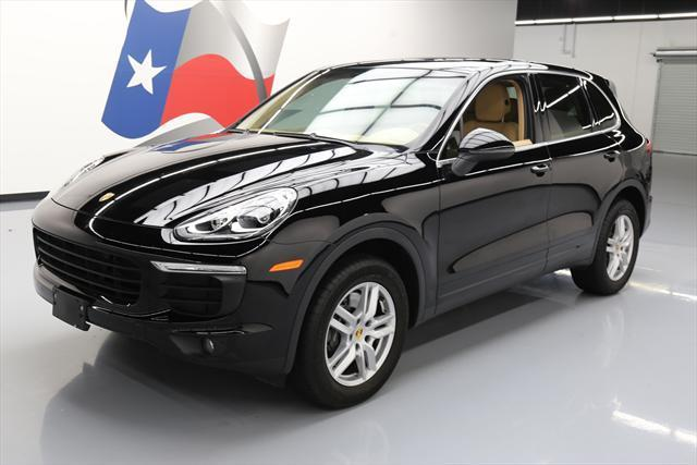 2016 Porsche Cayenne (Black/Tan)