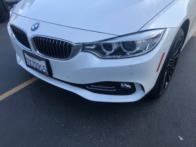 2016 BMW 4-Series (White/Brown)