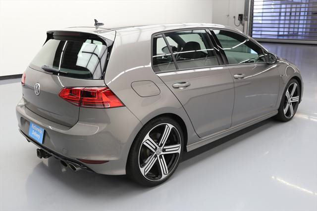 2016 Volkswagen Golf R (Gray/Black)