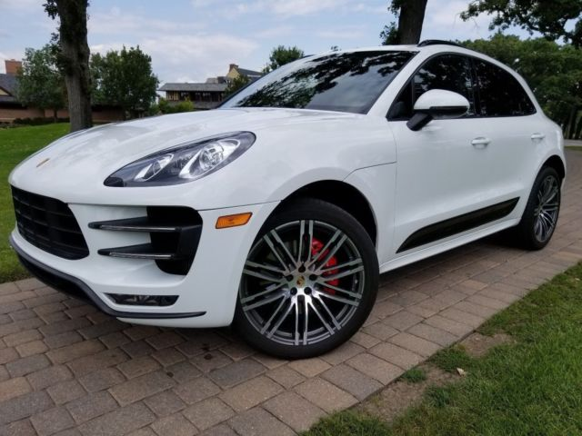 Seller Of German Cars 2015 Porsche Macan White Black