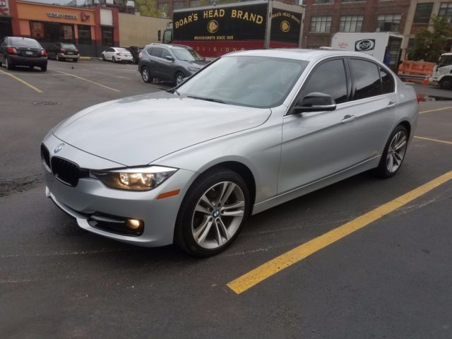2015 BMW 3-Series (Silver/Red)