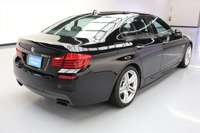 2016 BMW 5-Series (Black/Black)
