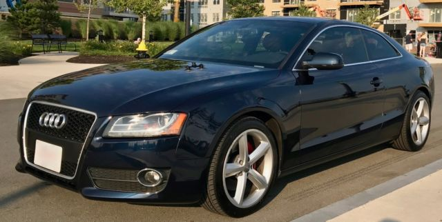 2010 Audi A5 (Blue/Brown)