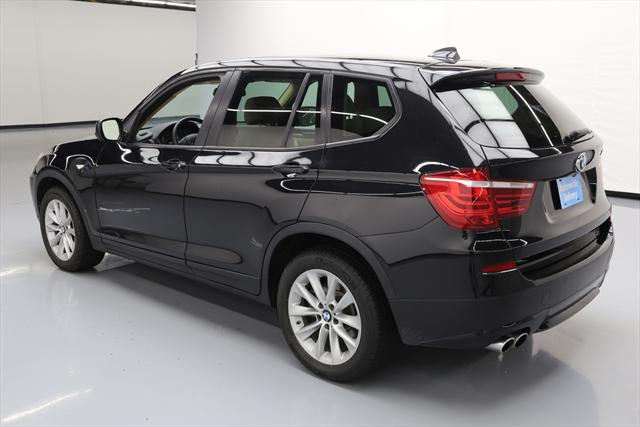 2014 BMW X3 (Black/Tan)