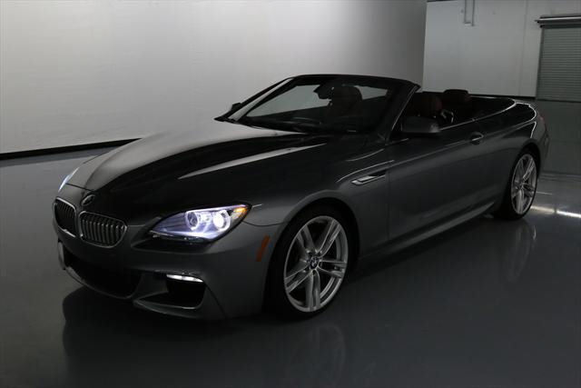 2012 BMW 6-Series (Gray/Red)
