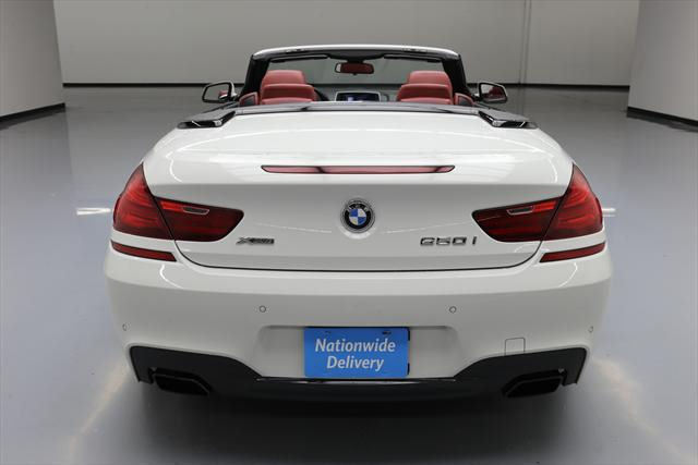 2014 BMW 6-Series (White/Red)