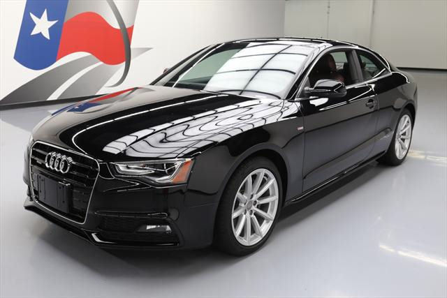 2015 Audi A5 (Black/Brown)