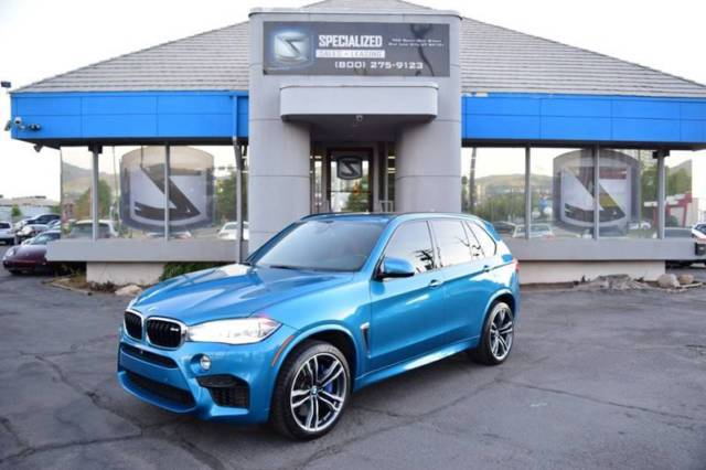 2015 BMW X5 (Blue/Brown)
