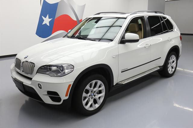 2013 BMW X5 (White/Tan)