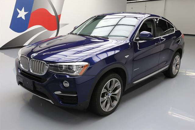 2015 BMW X4 Blue Black
