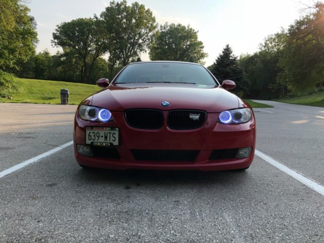 2008 BMW 3-Series (Red/Tan)
