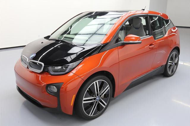 2014 BMW i3 (Orange/Gray)
