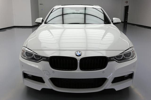 2015 BMW 3-Series (White/Red)