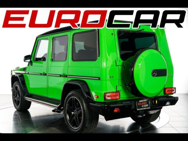 2015 Mercedes-Benz G-Class (Green/Black)
