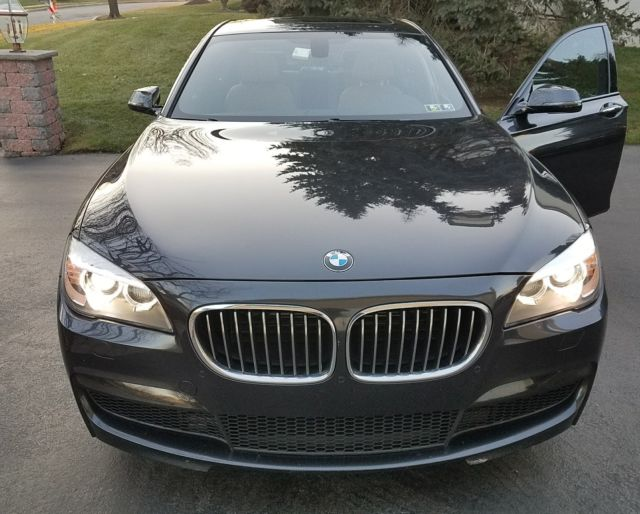 2014 BMW 7-Series (Graphite Metalic/Brown)