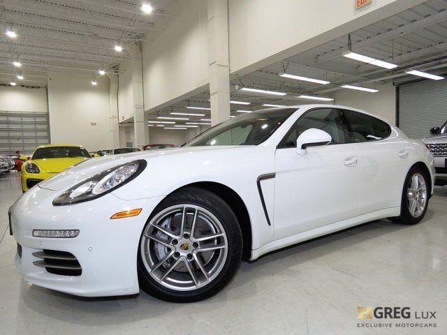 2015 Porsche Panamera White Black