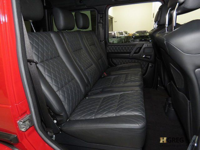 2015 Mercedes-Benz G-Class (Red/Black)