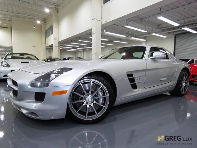 2011 Mercedes-Benz SLS AMG (Gray/Black)