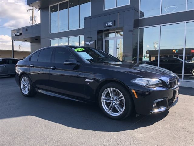 2014 BMW 5-Series (Jet Black/Blue)