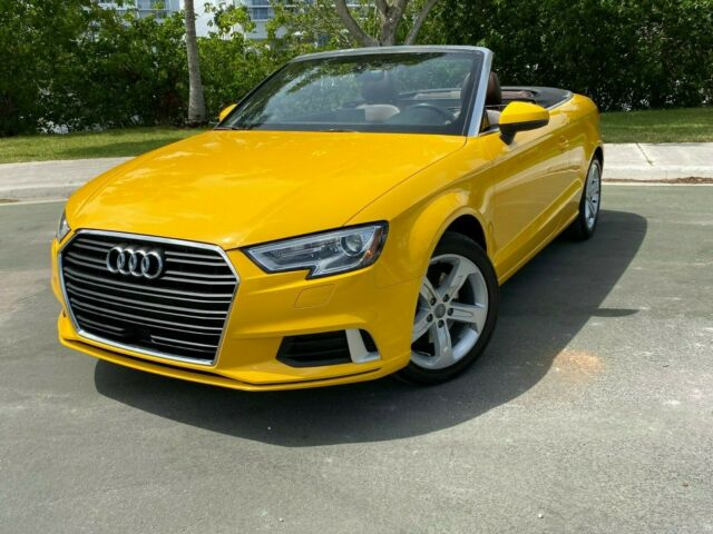 2017 Audi A3 (Yellow/Brown)