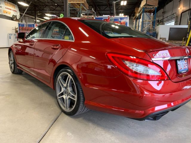 2014 Mercedes-Benz CLS-Class (Red/Tan)