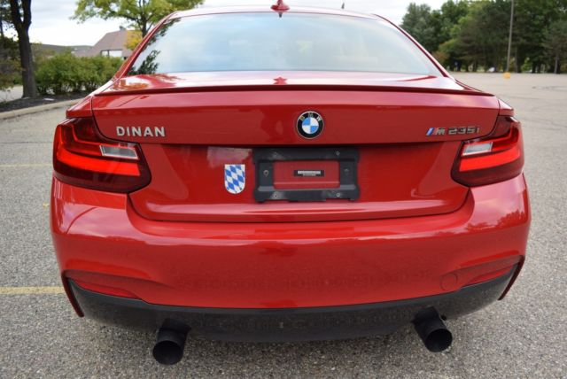 2015 BMW 2-Series (RED/BROWN LEATHER)