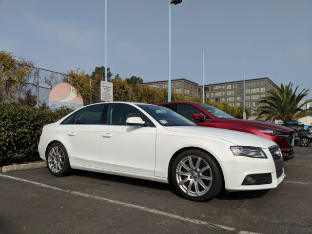 Seller Of German Cars 2010 Audi A4 White Black