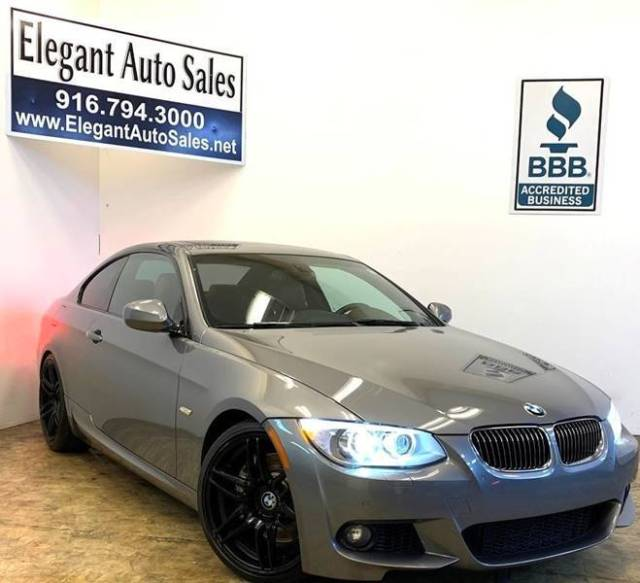 2012 BMW 3-Series (Gray/Brown)
