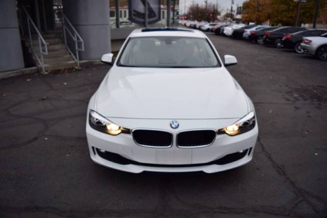 2015 BMW 3-Series (White/Beige)