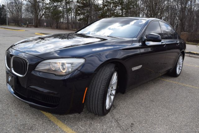 2012 BMW 7-Series (BLUE/BLACK LEATHER)